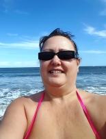In the sea