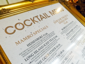 Mambo cocktails