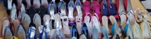 Shoes pink purple