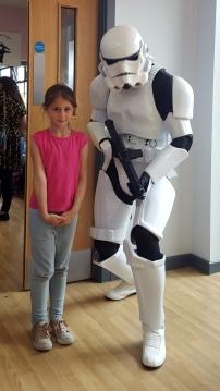 Sophie stormtrooper