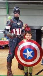 Captain America and Ruben
