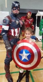 Captain America and Sophie