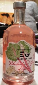 Rhubarb and Ginger Gin
