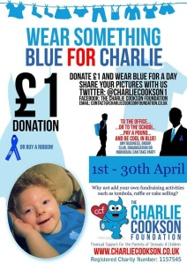 Wear blue for Charlie